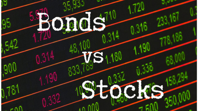 Difference between bonds and stocks